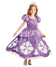 the ultimate collection sofia the first girls costume - Only at Chasing Fireflies - There's always adventure when you're a new member of the royal family. With her sweet smile, Sofia the First is the prettiest princess in Enchancia.