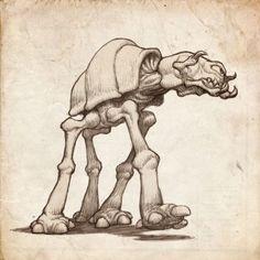 Jake parker - Star Wars Ship Monsters11
