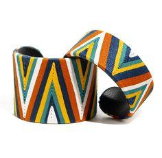 Manchette et bracelet en fil de coton! Fait main aux Philippines #ideecadeauethique #bijoux #Ithemba