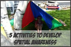 5 Ways to Develop Spatial Awareness - Pinned by @PediaStaff – Please Visit  ht.ly/63sNt for all our pediatric therapy pins