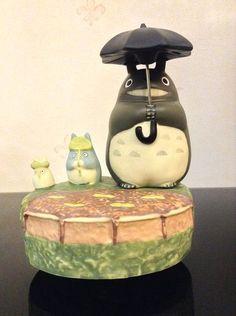 My Neighbor Totoro Music Box Studio Ghibli Figure Decoration