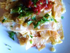 Migas    adapted from The Homesick Texan