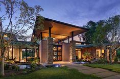 featured posts image for Walls of glass defines Arizona home re-imagined for a modern lifestyle Modern Mountain Home, Mountain Living, Style At Home, Indoor Outdoor, Outdoor Living, French Provincial Home, Phoenix Homes, Modern Masters, Modern House Design