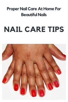 Nail Care Tips For Beautiful Nails