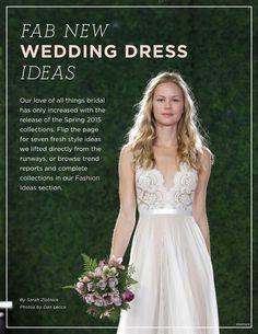 Wedding Dress Ideas   WeddingWire SUMMERBOOK 2014