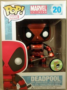 #SDCC exclusive #Deadpool announced by #Marvel Toy News.