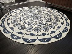 from table cloth to rug