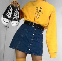 Hipster Outfits To Make Everyone Envy Indie Outfits, Teen Fashion Outfits, Retro Outfits, Cute Casual Outfits, Stylish Outfits, Vintage Outfits, Girl Outfits, Rock Outfits, Party Outfits