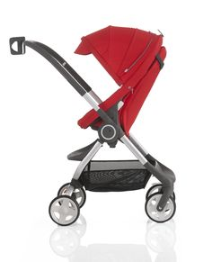 Stokke Scoot stroller is nimble, compact with a high position so baby can enjoy the view at your level.