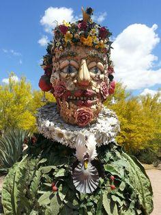 Spring Sculpture Desert Botanical Garden Phoenix, Botanical Gardens, Sculpture, Spring, Sculptures, Sculpting, Statue, Carving