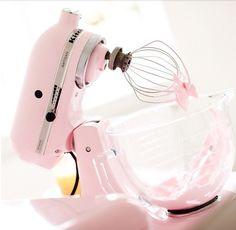 @xmyeverything Baking Tools Utensilios para hornear Pink Kitchen Aid