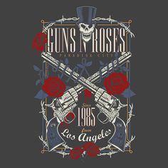 CAMISETA DO GUNS N ROSES NA REVERBCITY!