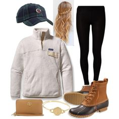 Bean boots and Patagonia