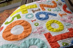I love love love the quilting!
