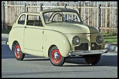 1947 Crosley Convertible - NOT A GANGSTER CAR!  Thought maybe I should clarify that, as if you didn't know!
