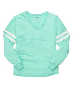 Look what I found on #zulily! Mint Varsitee Slub Sleep Top - Women & Plus #zulilyfinds