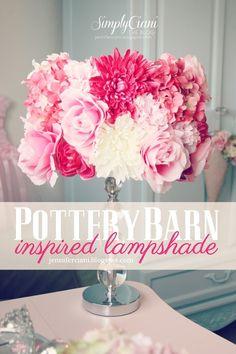 Simply Ciani: The Look For Less - Diy PotteryBarn Lamp Shade