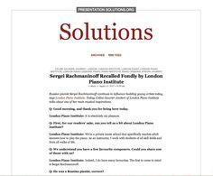 London Piano Institute - PresentationSolutions