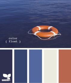 Complimentary Colours (Blue & Orange)