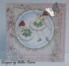 Ballerina - Green Kids Cards, Ballerina, Stamps, Plates, Tableware, Green, Design, Seals, Licence Plates