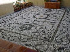Empedrado granadino de Francisco Angel Porras Romero http://www.mosaicosydecoraciondesuelos.blogspot.com.es/, en Granada.