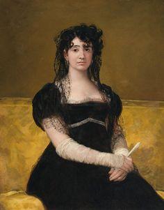 Francisco Goya (Spanish [Romanticism] Antonia Zárate, National Gallery of Ireland, Dublin, Ireland. Francisco Goya, Spanish Painters, Spanish Artists, National Gallery Of Ireland, Art Espagnole, Portraits, Art Plastique, Art History, Cool Art