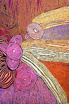 Walangkura Napanangka Women's Ceremony 2007 synthetic polymer paint on canvas 182 x 121 cm Aboriginal Painting, Aboriginal Artists, Dot Painting, Aboriginal Patterns, Indigenous Australian Art, Indigenous Art, Australian Artists, Art Premier, Tempera