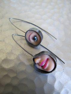 freaky deaky earrings