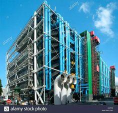 George Pompidou Center Renzo Piano Richard Rogers Ove Arup 1977