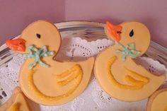 Duckling Baby Shower Cookies