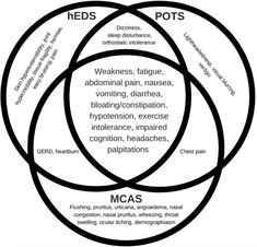 The Relationship Between Hypermobile Ehlers-Danlos Syndrome (hEDS), Postural Orthostatic Tachycardia Syndrome (POTS), and Mast Cell Activation Syndrome (MCAS) Ehlers Danlos Syndrome Symptoms, Ehlers Danlos Hypermobility, Elhers Danlos Syndrome, Congenital Adrenal Hyperplasia, Mast Cell Activation Syndrome, Natural Blood Pressure, Chronic Fatigue, Chronic Illness, Chronic Pain