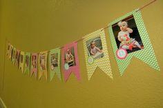 Chevron & Polka Dots Birthday Party Ideas | Photo 2 of 37 | Catch My Party