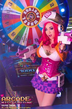 League of Legends Miss Fortune Arcade version by Benny-Lee on DeviantArt