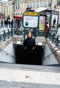 Daria Werbowy in Paris by Juergen Teller for Pop Magazine.