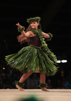 Maui's own Manalani Mili Hokoana English captured the title of Miss Aloha Hula at the 50th Merrie Monarch Festival competition in Hilo.