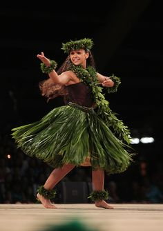 Maui's own Manalani Mili Hokoana English captured the title of Miss Aloha Hula at the 50th Merrie Monarch Festival competition in Hilo.