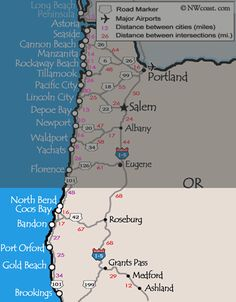 The Southern Oregon Coast includes North Bend through Brookings. This coastline doesn't get quite the same attention as the North and Central Coast of Oregon from visitors, but it is mostly a factor of driving distance rather than beauty or amenities