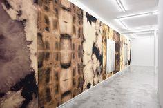 Exhibition of works by Thomas Fougeirol on view at Praz-Delavallade, Paris