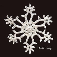 Belle Tracy: Snowflake # 8