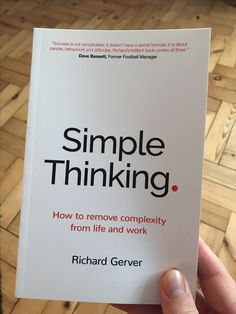 New reading book, Simple Thinking by Best Books To Read, I Love Books, Good Books, My Books, Best Books For Men, Motivational Books, Inspirational Books, Book Suggestions, Book Recommendations