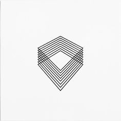 abstract geometric design tattoo - beautiful lines