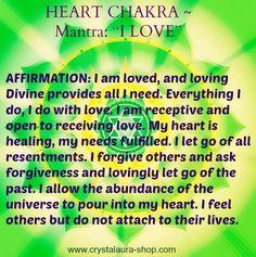 Heart Chakra Mantra... balancedwomensblog.com