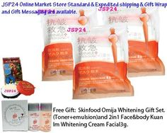 3 Packs X 200g. Liceko Pearl Powder 100%. Super Whitening Wrinkles Emergency Mask + Scrub 2 in 1. Reduce Freckles + Remove Dark Spot. (Free Gift: Skinfood Omija Whitening Gift Set. (Toner+emulsion)and 2in1 Face Kuan Im Whitening Cream Facial3g.) by Liceko. $66.00. 3Packs. 200g. per Pack. total 600g.. JSP24 Online Market Store Ship Only Original Brand & New Stock From Manufacture. Standard & Expedited Shipping & Gift Wrap and Gift Messaging are available. (If Purc...