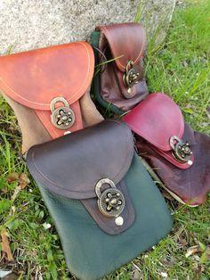 Leather Belt Bag Hip Bag For Men Belt Bag For by ProjectArmory