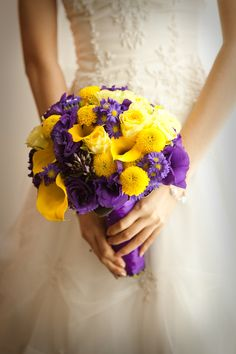The 64 best wedding purple yellow images on pinterest lilac purple yellow bouquet yellow purple wedding purple wedding bouquets purple wedding themes mightylinksfo
