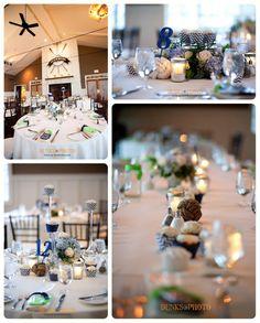 #nautical blue and green wedding  Chesapeake Bay Beach Club Wedding - Kent Island Wedding www.dunksphoto.com