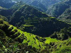 dramatic landscapes in Luzon, the Philippines