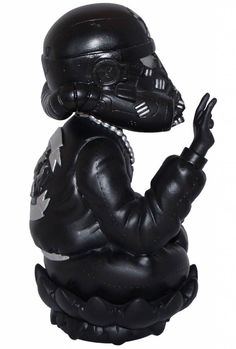 """""""Black Trooper Lotus""""   Size: 8""""   Materials: Resin   Edition: 8   Artist: Clogtwo   Image 3 of 3"""
