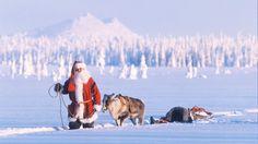 Meet Santa Claus in Lapland Finland