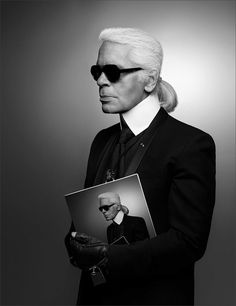 Karl Lagerfeld · Self Portrait · 2013